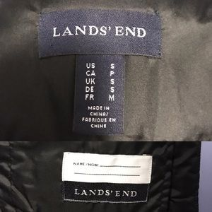 Lands' End Jackets & Coats - LANDS' END Down Puffer Vest